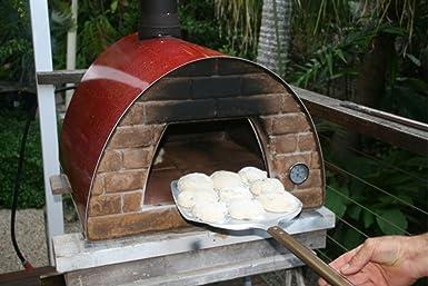 Amazon.com: Móvil/portátil Madera Despedido Horno de pizza ...
