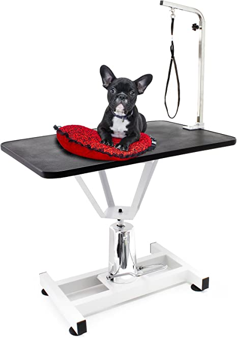 WilTec Mesa Veterinaria Peluquería Canina para Mascotas Aseo ...