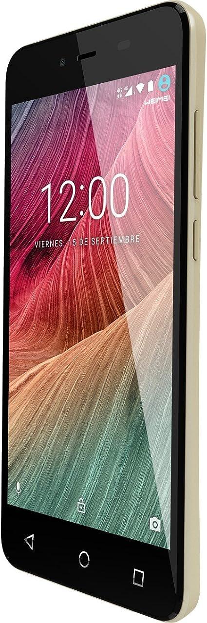 Telefono movil Smartphone weimei Neon 2/5 / Dorado / 16gb ROM ...