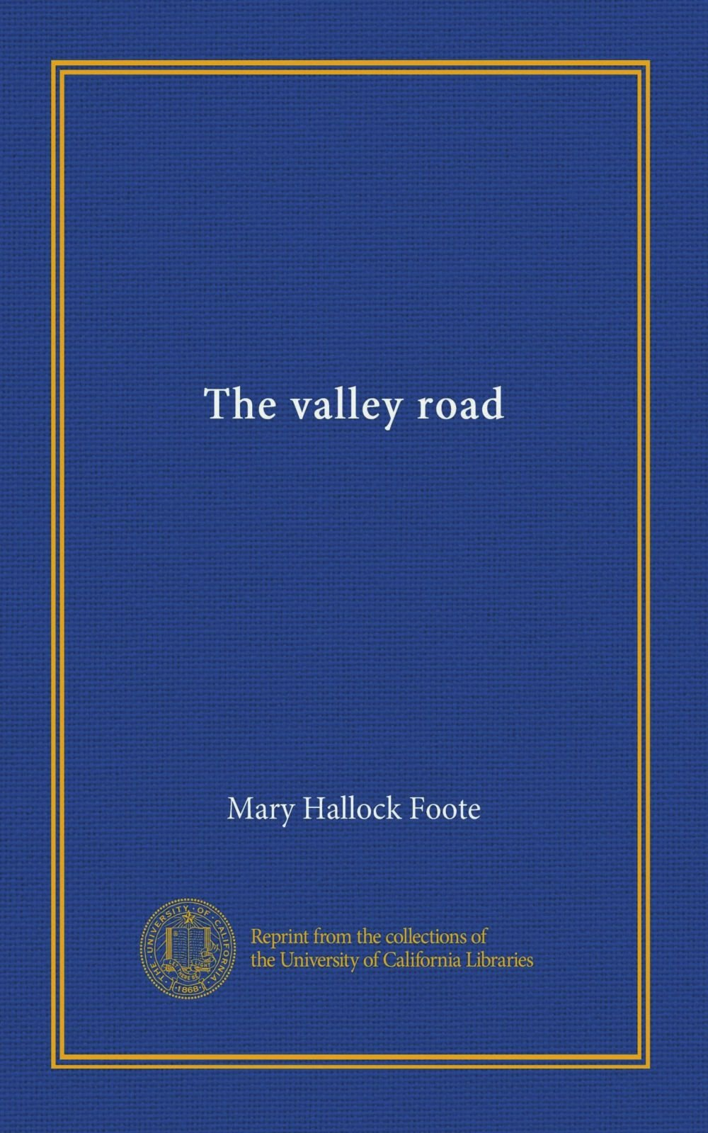 Read Online The valley road PDF