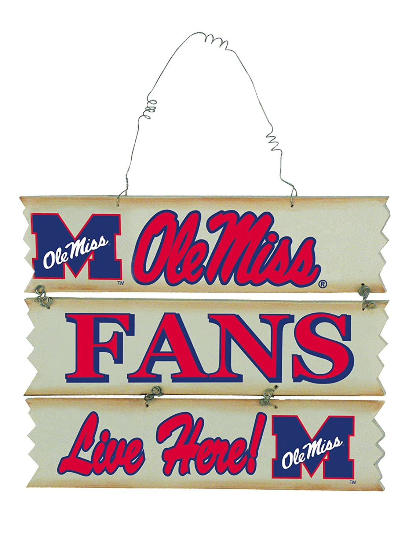 University Of Mississippi Hanging Fan Sign