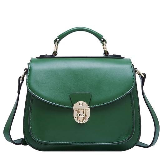 1 opinioni per BOYATU Womens Leather Handbags Borsa a tracolla in ottone per maniche da donna