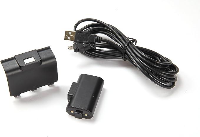 Gioteck - Batería Recargable + Play & Charge (Xbox One): Amazon.es: Videojuegos