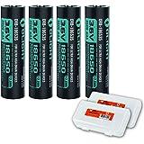 Olight HDC 3500mAh 18650 4 Pack Rechargeable Batteries for Olight X7 Marauder