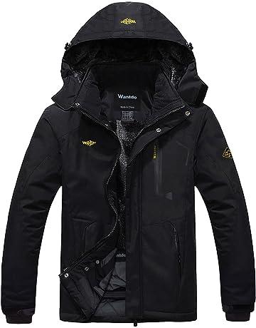 0ef6aa8db2 Wantdo Men s Mountain Waterproof Ski Jacket Windproof Rain Jacket