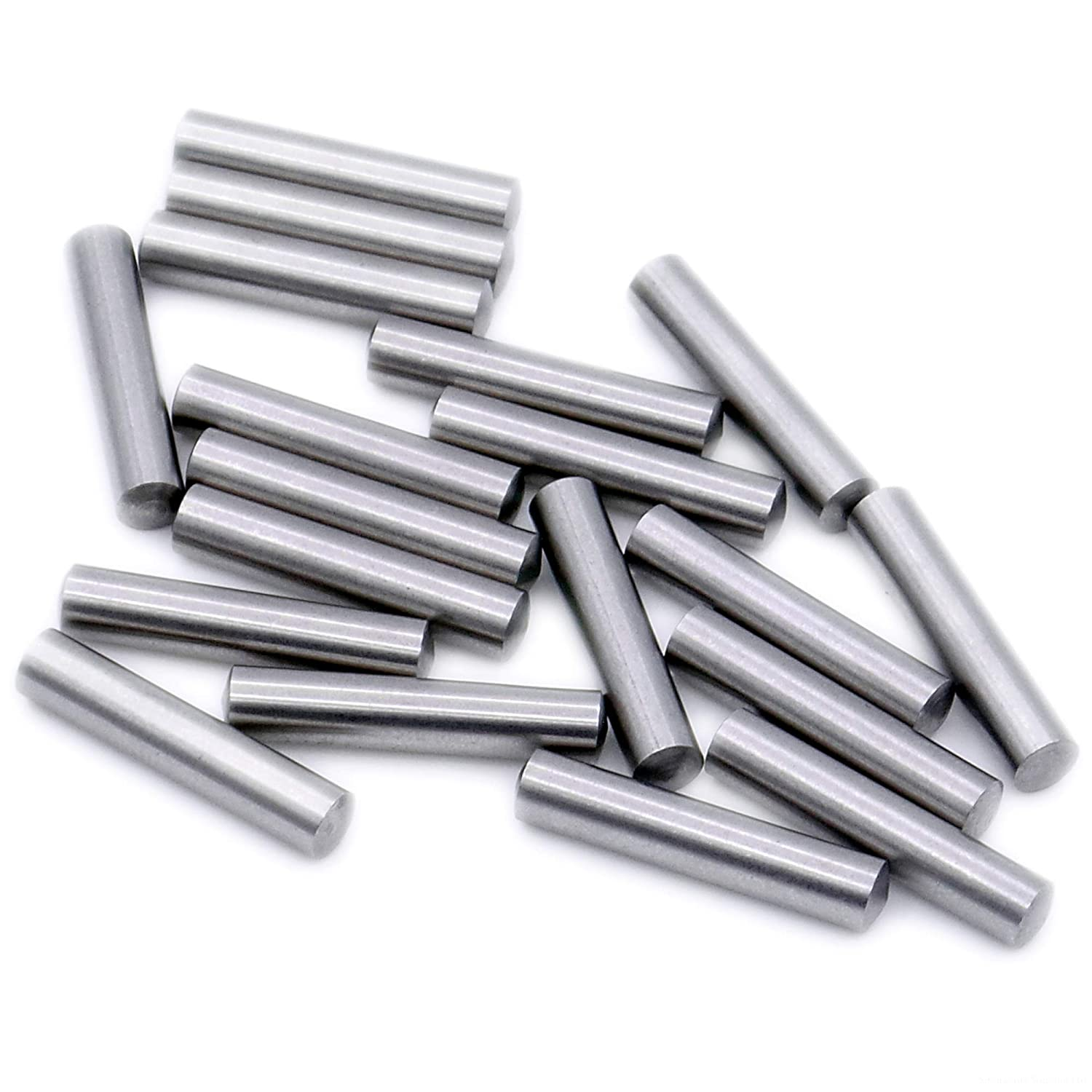 Dowel Pins A1 1mm x 18mm Pack of 20 - Stainless Steel D1 M6