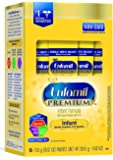 Enfamil PREMIUM Non-GMO Infant Formula, Powder, 17.4 Gram Single Serve Packets, Pack of 16