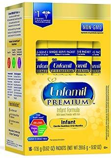 Enfamil PREMIUM Non-GMO Infant Formula - Single Serve Powder, 17.6 g (16