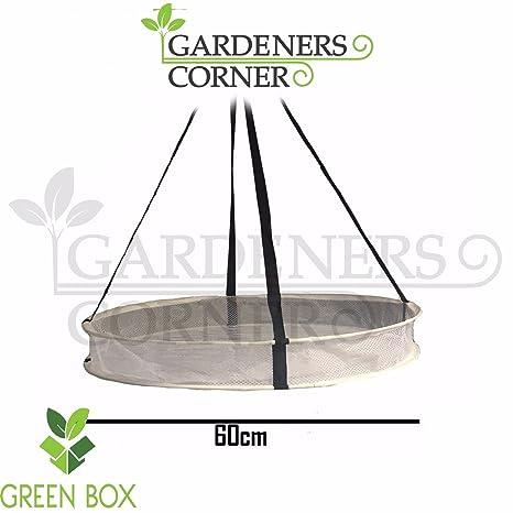 Gardeners - Estante de esquina para esquina (60 cm, 1 estante), diseño