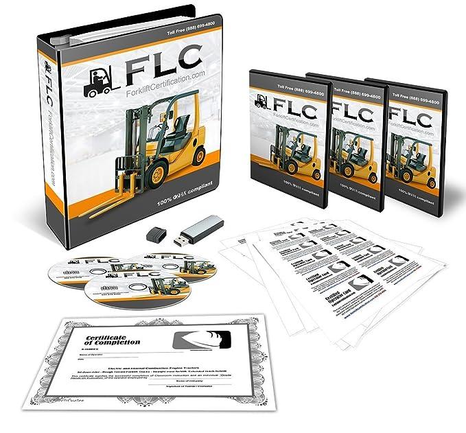 Amazon Forklift Certification Training Kit 100 Osha