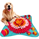 FREESOO Snuffle Mat for Dogs Lickimats Pet Feeding Mat Nosework Training Play Mats Interactive Puzzle Toys for Stress Release