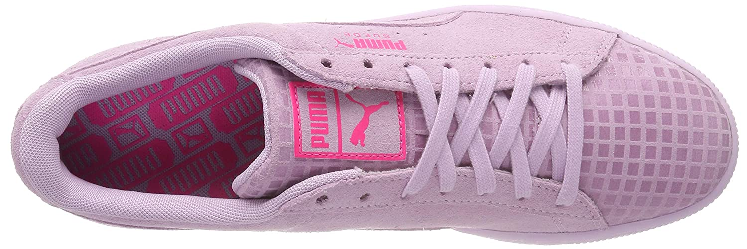Puma Damen Suede Classic Street 2 WN's Sneaker, Pink (Winsome Orchid Aged Silver 03)