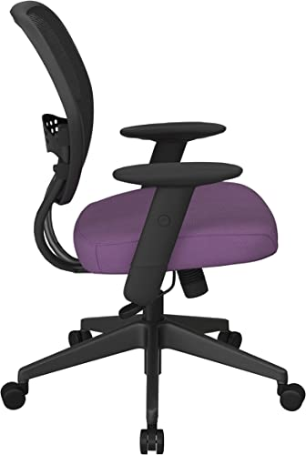 SPACE Seating 55 Series Professional Dark Air Grid Back Adjustable Manager's Chair
