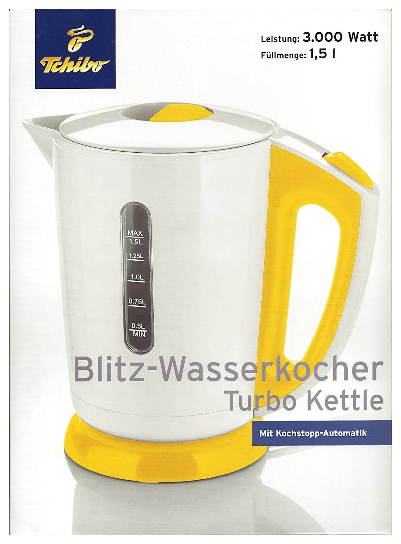 new appearance coupon code official images TCM Tchibo Blitz Wasserkocher , 3.000 Watt , 1,5 l (Weiß ...