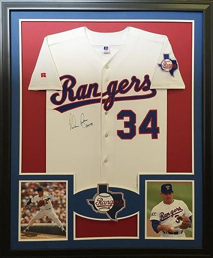 Nolan Ryan Framed Jersey Signed PSA/DNA COA Autographed Texas ...