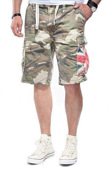 b307829f3e Jet Lag Men's Shorts Multicoloured Camouflage 31W