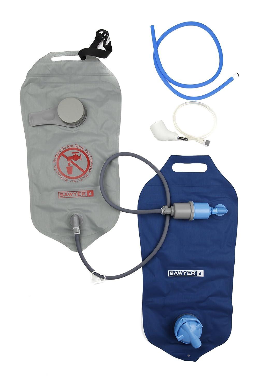 SAWYER Komplette 2 Tasche Wasserfilter system, Blau, 8 x 22.9 x 34.6 cm, 4 Liter, SP184