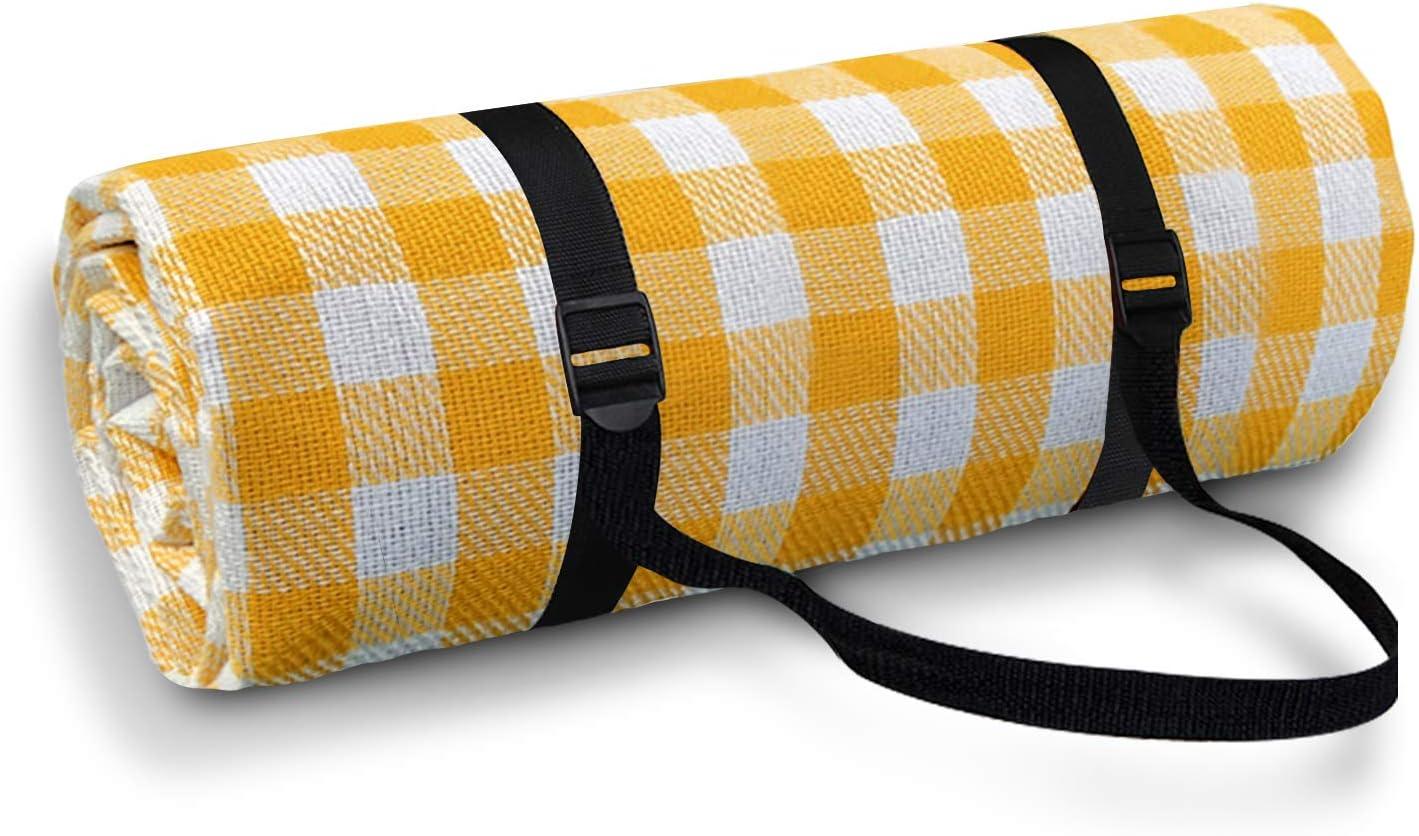 Picknickdecke W/ärmeisoliert f/ür Str/ände//Picknicks//Parks//Camping und Outdoor-Aktivit/äten Picknick Matte Simpeak Picknickdecke Wasserdicht Outdoor 200x200