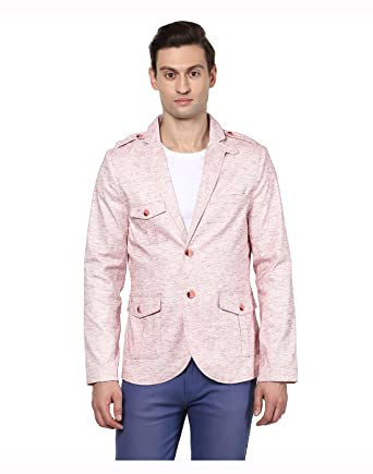 e1907f1544845 Yepme - Blazer - para hombre rosa rosa XL  Amazon.es  Ropa y accesorios