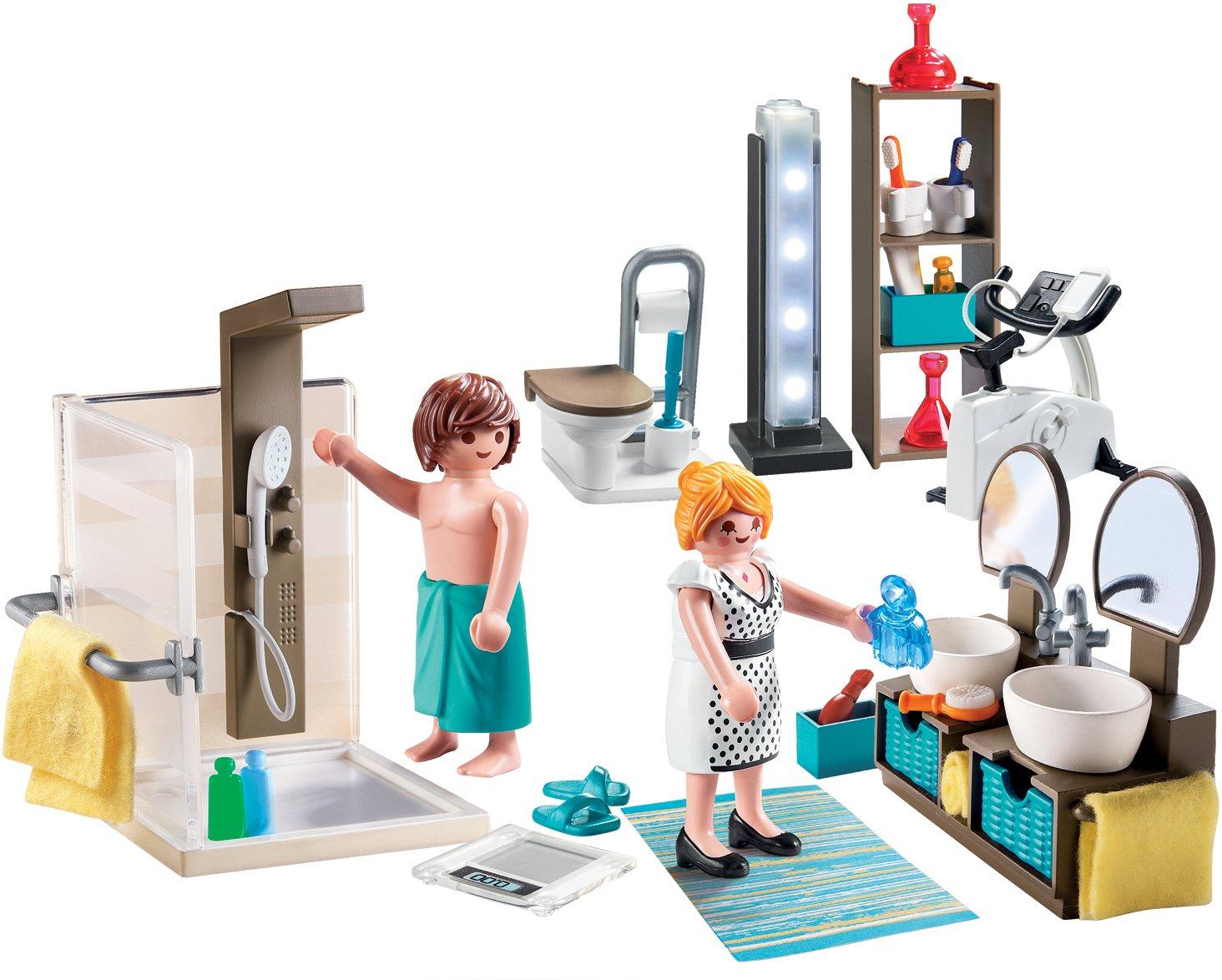 Playmobil 9268 City Life - Bathroom: Amazon.co.uk: Toys & Games
