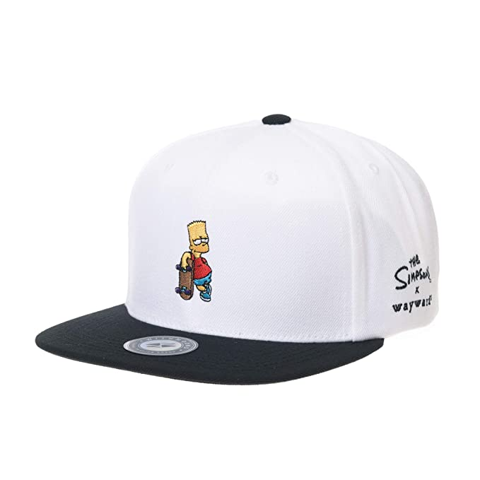 Gorra de Trucker Sombrero de The Simpsons Ball Cap Bart Skateboard