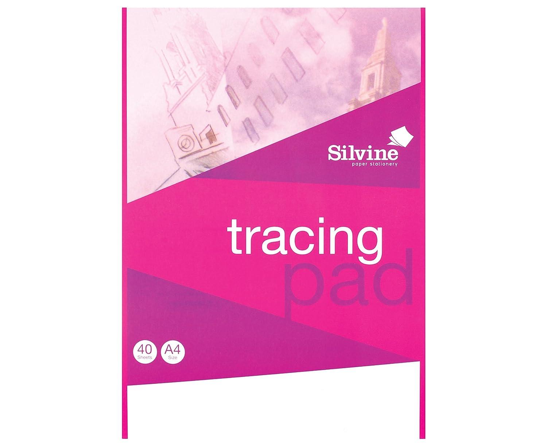 Silvine A4 tracing pad 40 fogli A4T