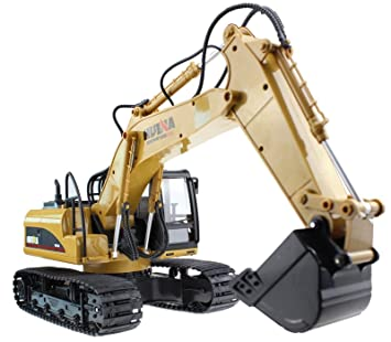 Amazon huina alloy 15 channel 24g full function remote huina alloy 15 channel 24g full function remote control rc excavator full function crawler sciox Choice Image