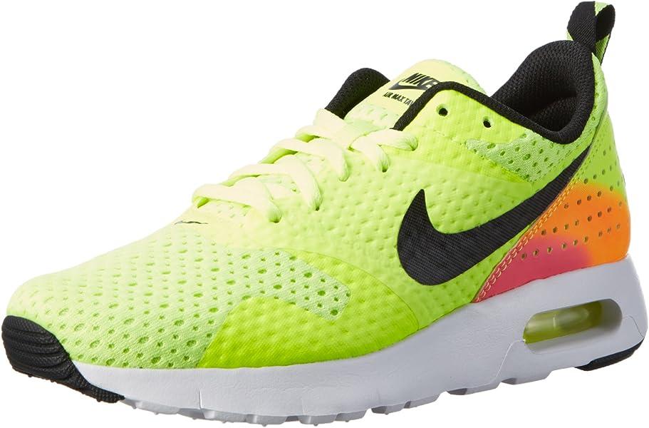 on sale 62233 168ae Amazon.com   Nike Air Max Tavas FB (GS) Sneaker Current Model 2016 neon    black   colorful, Color neon EU Shoe Size EUR 39   Road Running