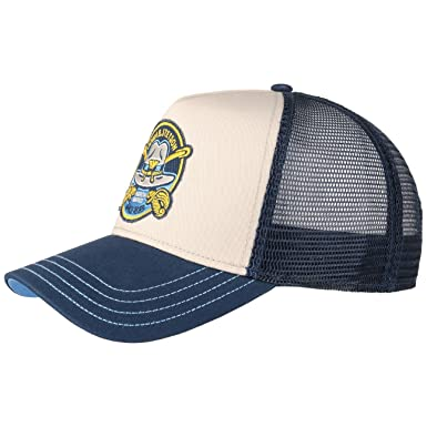 Stetson JBS-Cavalry Trucker Baseball Mesh Cap (One Size - Beige-Blue ... 35ab0e68649
