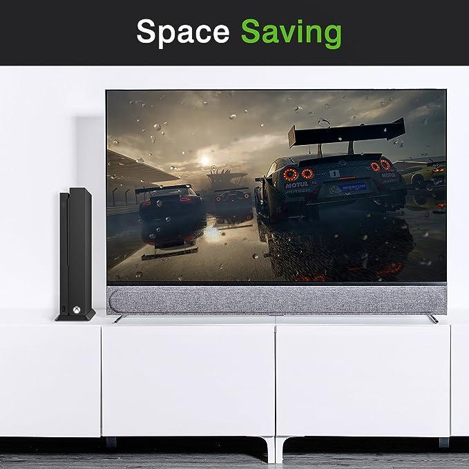 MoKo Soporte Vertical para Xbox One X con Mejor Sistema de Refrigeración: Amazon.es: Electrónica