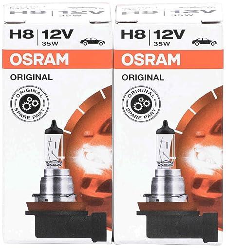 2x h8 8500k 12 V 35 W Xenon look effet optique halogène Ampoules lampes Super White