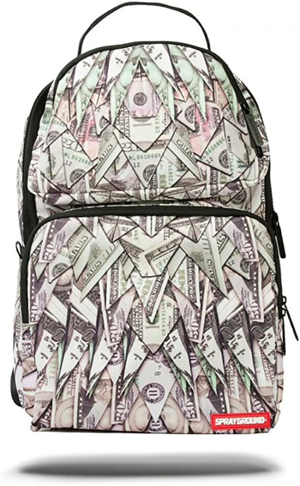 Sprayground Unisex Origami Money Trooper Backpack Assorted