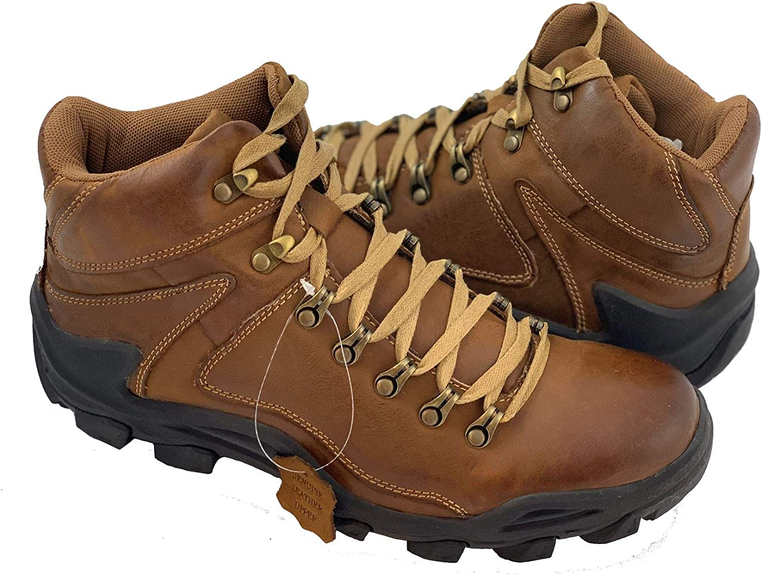Labo Pro Reactive Mens Water Resistant Hiking Boot Genuine Leather