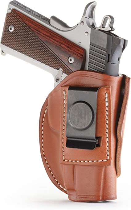 """1911 IWB fits Kimber Springfield Single Stack Concealed Carry Leather Holster 5/"""""""