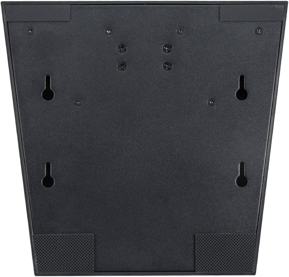 Wearson R/églable LCD Moniteur Stand Monter Pliage VESA Moniteur Stand Bureau Support avec VESA Hole 75x75mm 100x100mm