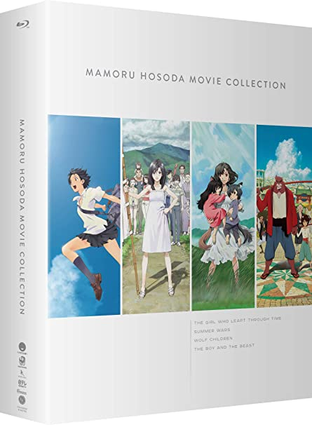 Mamoru Hosoda Movie Collection: The Girl Who Leapt Through Time / Summer Wars / Wolf Children / The Boy And The Beast by Amazon
