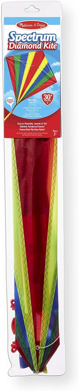 Melissa /& Doug Spectrum Diamond Kite Childrens Kite