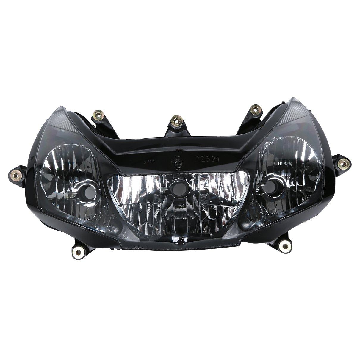 HUILI-JPHOME ヘッドライト ヘッドランプ アセンブリ ホンダ CBR954 CBR 954 2002-2003 対応 B07NS65SZR