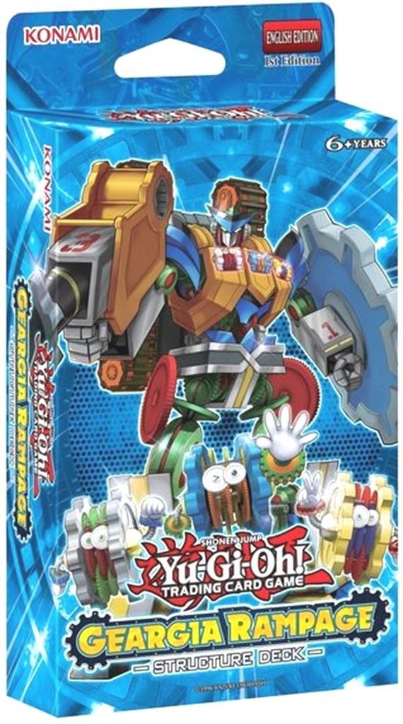 Amazon.com: Konami - Yu-Gi-Oh! - Structure Deck - Geargia Rampage: Toys & Games