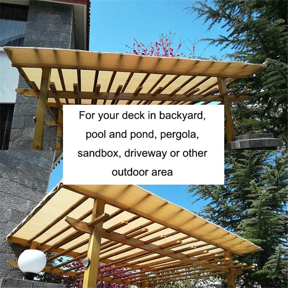 Tela De Sombra 90% Tela De La Sombra del Sol con Ojales Sombra De Malla De Protección Protección Solar UV Vela De Protección Solar Patio Jardín Al ...