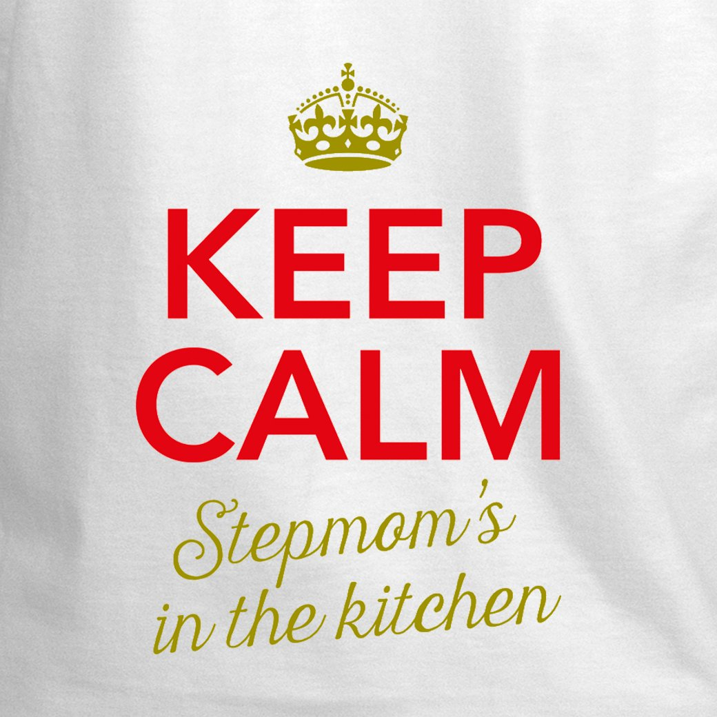 Amazon.com: Stepmom Apron, Stepmom Cooking Gift, Keep Calm ...