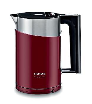 Siemens TW86104, Negro, Rojo, 220 - Calentador de agua