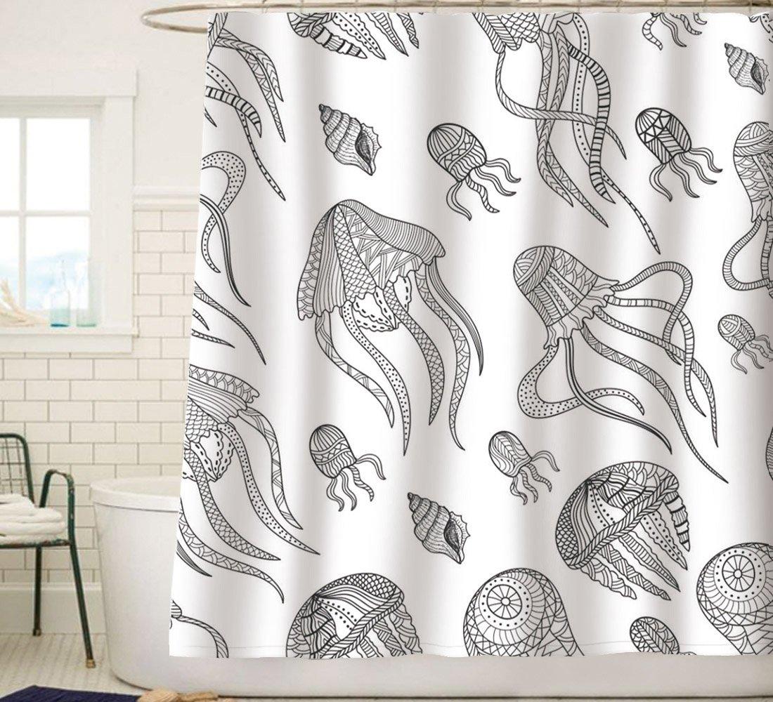 Amazon.com: Sunlit Contemporary Jellyfish Squid Tentacles Sea Snail ...