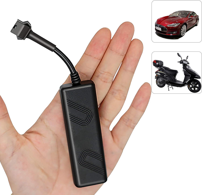 Rastreador GPS en Tiempo Real para vehículos, Likorlove Dispositivo de Seguimiento automático de Motocicleta para automóvil de Larga Espera, Alarma antirrobo gsm/GPRS/Localizador GPS