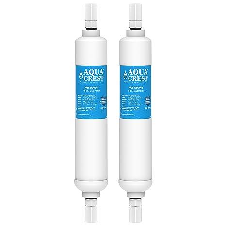 AQUACREST DD7098 Filtros de agua para frigorífico, Compatible con ...