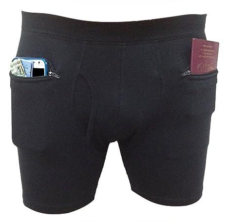 Amazon.com  Clever Travel Companion Men s Underwear with Secret ... 6db3a07354cb