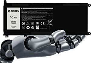 Laptop Battery for Dell, 33YDH Inspiron Battery 17 7000 7778 7779 7786 7773 15 7577 G3 3579 3779 G5 5587 G7 7588 Latitude 13 3380 14 3490 15 3590 3580 PVHT1 P30E 81PF3 081PF3