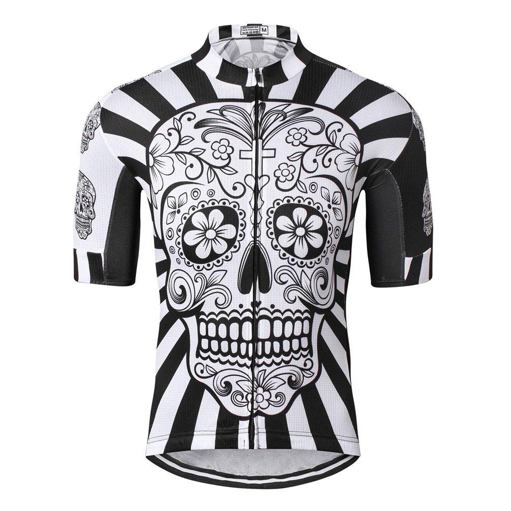 weimostar Cycling Jersey Men's Biking Shirt Summer Breathable Short Sleeve Clothing Full Zip Bicycle Jerseys jinjin sports