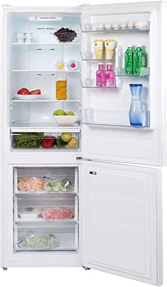Teka 323 Liters Free standing Combi Refrigerator, Full No Frost, White color, Bottom freezer, Electronic panel, A+ energy class, 1 Year warranty from the Manufacturer