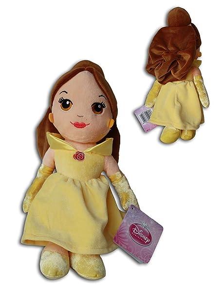 Peluche princesa Disney BELLA 30 cm + Reloj despertador PRINCESAS DISNEY.: Amazon.es: Juguetes y juegos